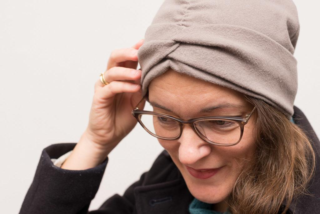 LaBandeau Beanie – Stirnband-Mütze, Detail
