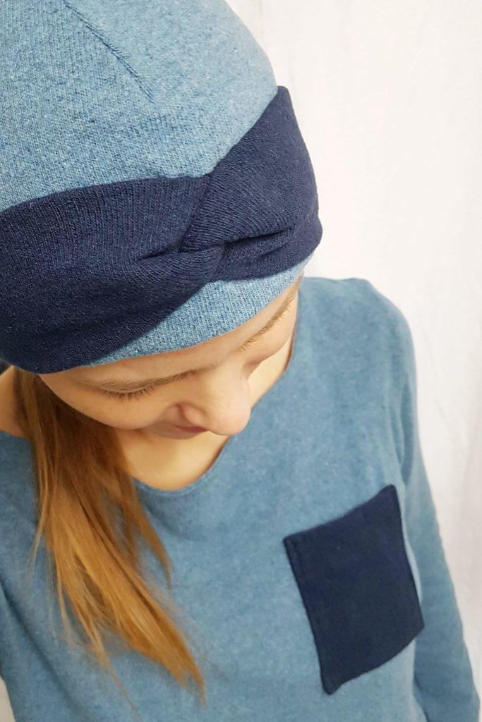 LaBandeau Beanie – Stirnband-Mütze, Designbeispiel wie.bitte