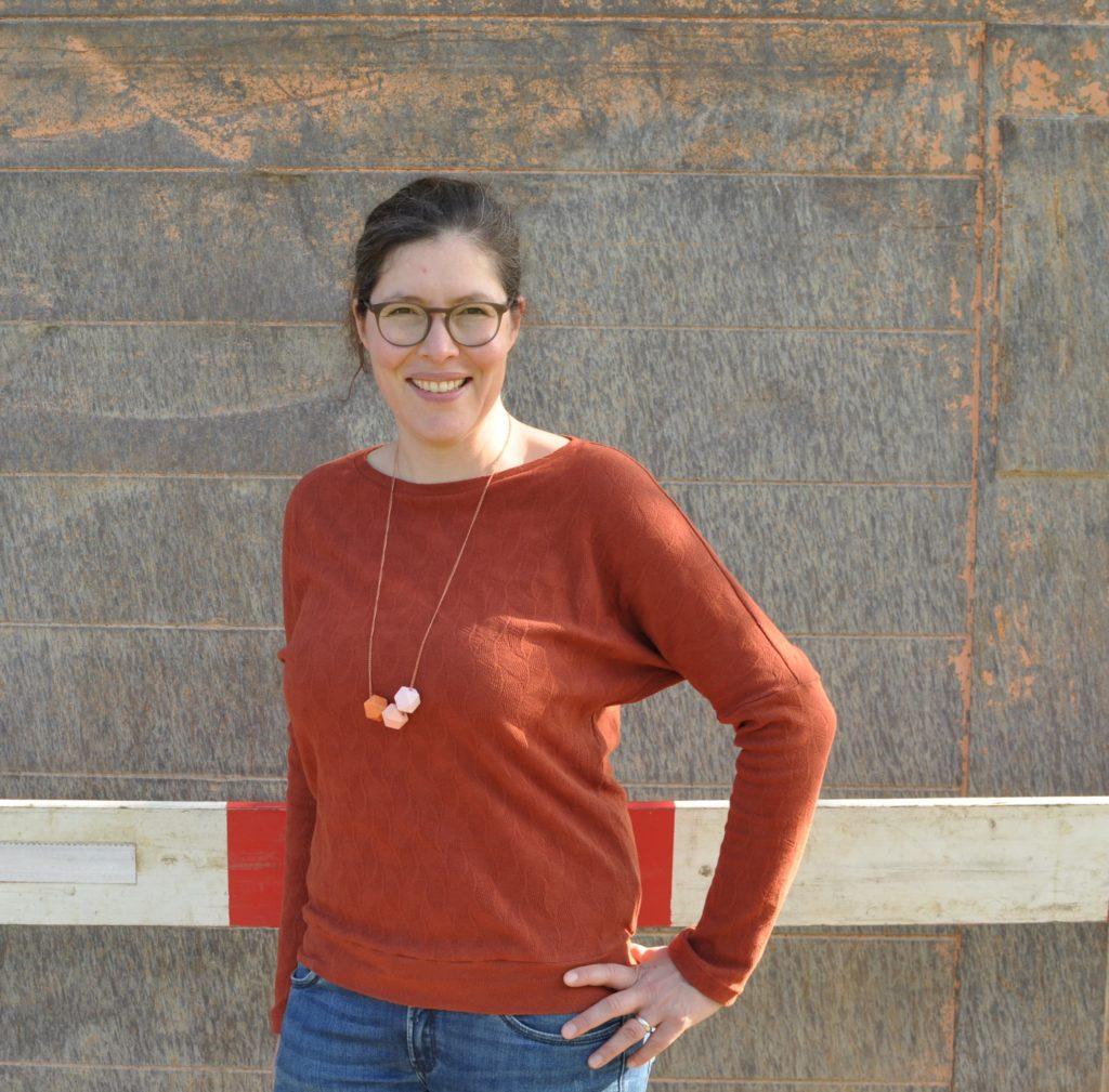 »LaBlus Sweater« bzw. »LaBlus Shirt« | E-Book – Mix&Match Shirt wird zu Pulli, Designbeispiel | naadisnaa