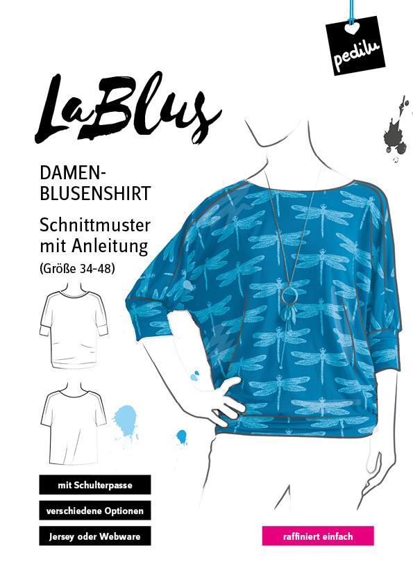 E-Book: Blusenshirt LaBlus und LaBlüsje im Oversize-Look | pedilu