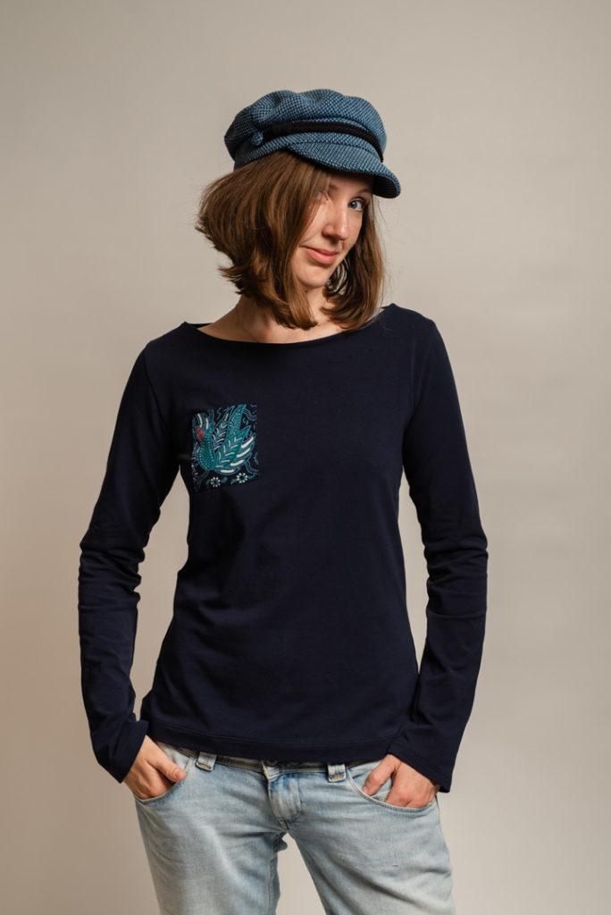 »LaBreton Shirt« | E-Book – Shirt, Designbeispiel | vansquirrel