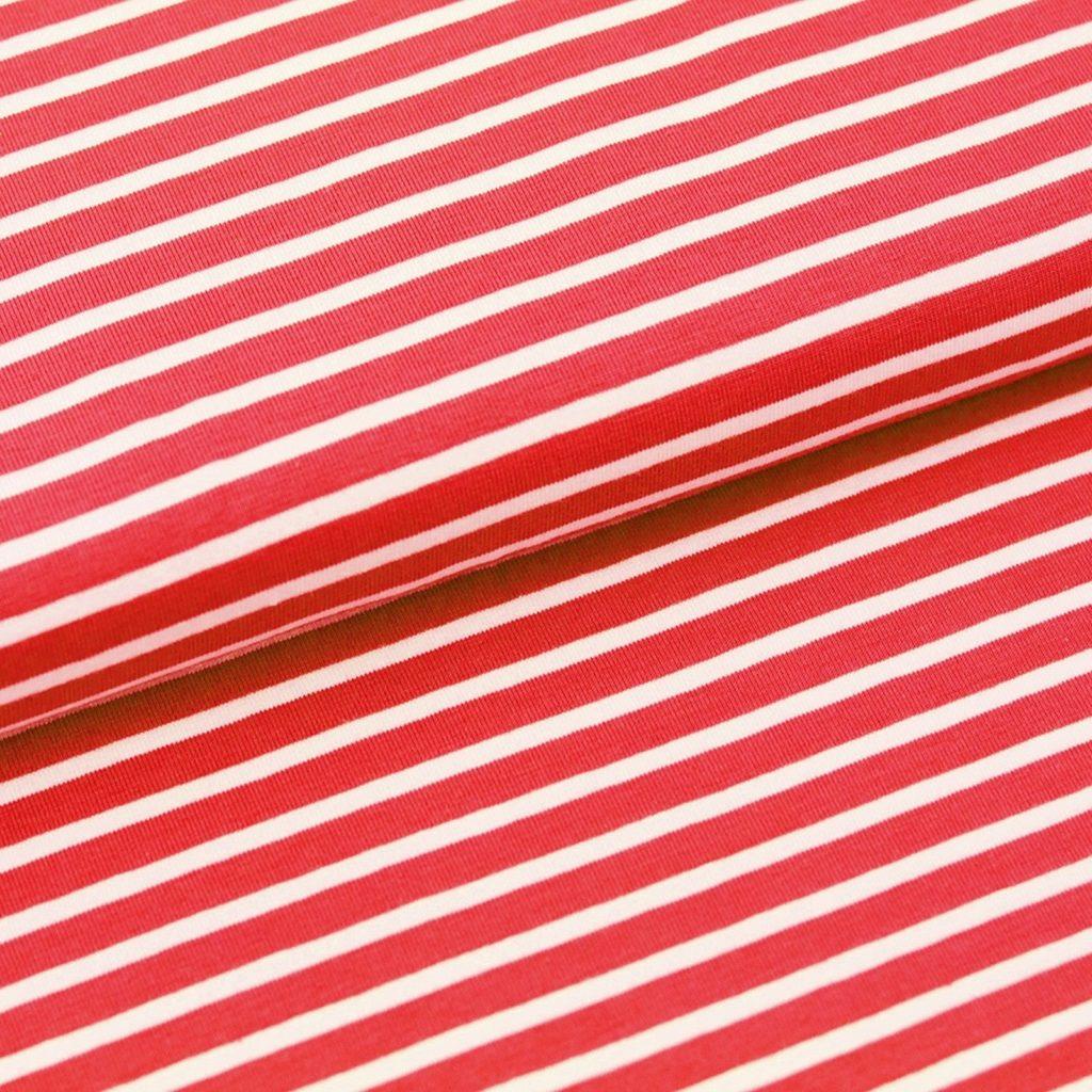 Bio-Streifenjersey von Stoffonkel