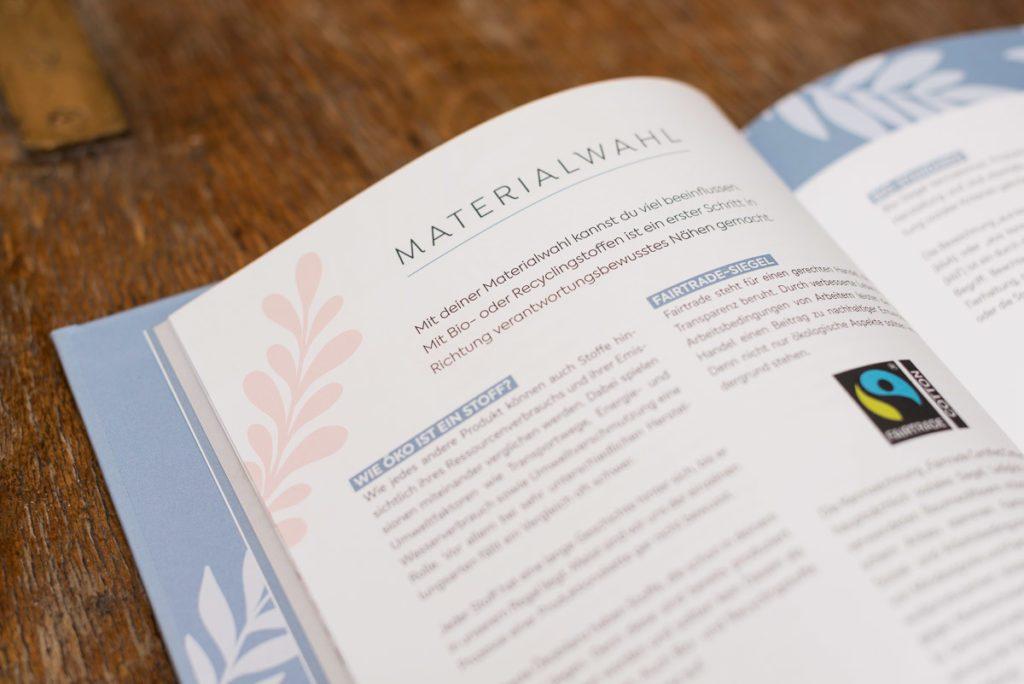 Buch: Einfach nachhaltig nähen – Material, Bio-Stoffe