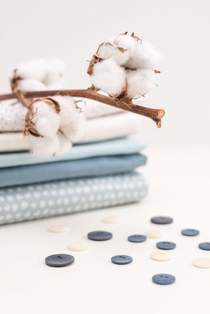 Buch: Einfach nachhaltig nähen – Baumwolle, Bio-Stoffe, Corozo-Knöpfe