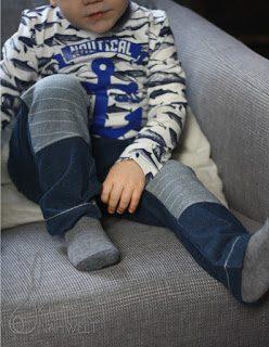 »Easy Jersey – Mtwachshosen« Biker-Hose Kinder