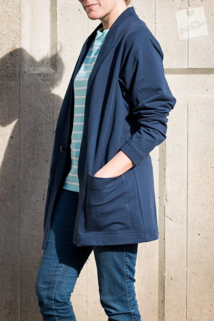 Kollektion Flurina – Blue-Navy mit Celeste  Cardigan LaCardie ♥ www.pedilu.com