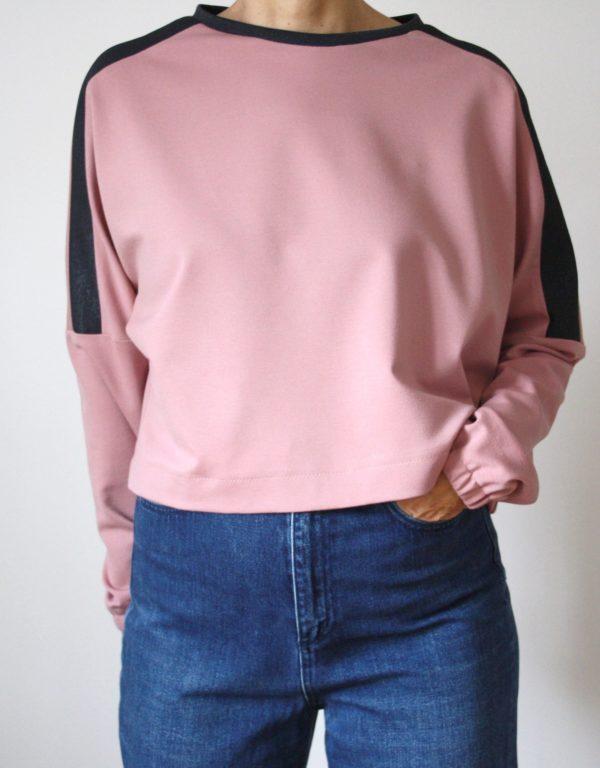 »LaBlus Sweater« | E-Book – Cropped Sweater, Designbeispiel | Ringeltet