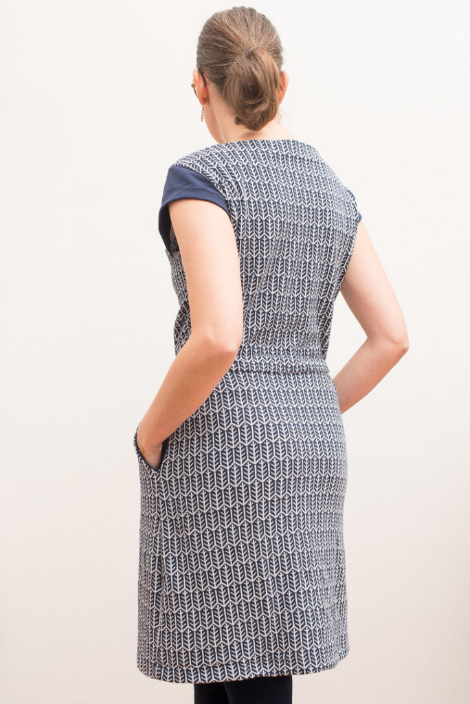 LaBreton Dress |Kleid, Rückansicht |pedilu