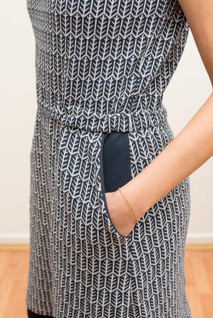 LaBreton Dress |Kleid, Eingrifftasche |pedilu