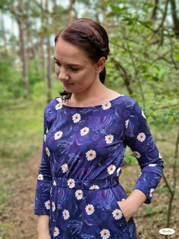 Winterärmel für LaBreton Dress von pedilu | Beispiel von Elbmädchen einfach_anja_1305
