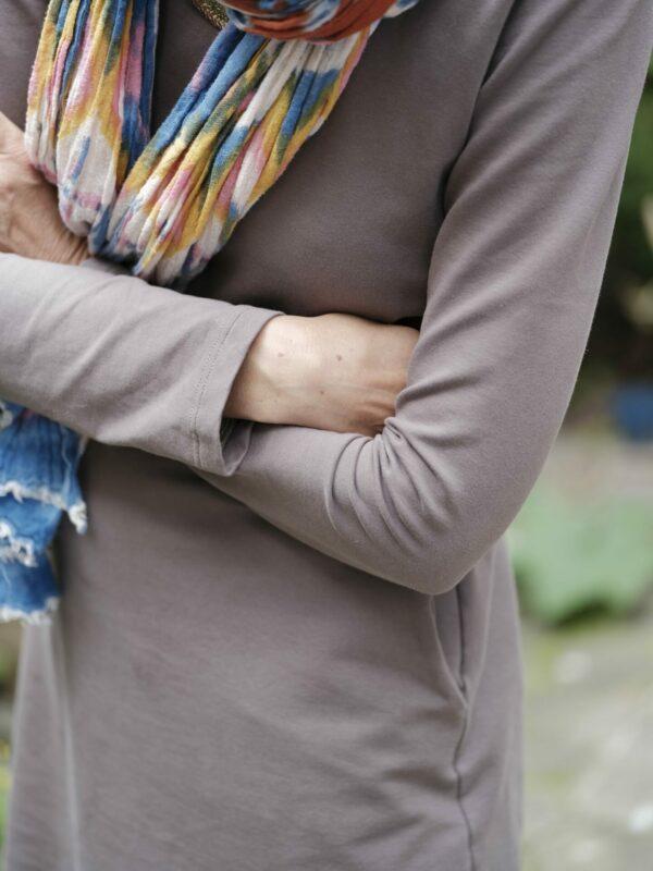 Winterärmel für LaBreton Dress von pedilu | Beispiel von STOFFBERGE