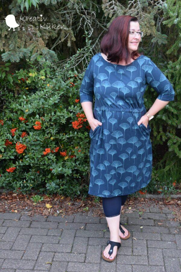 Winterärmel für LaBreton Dress von pedilu | Beispiel von kreativ küken