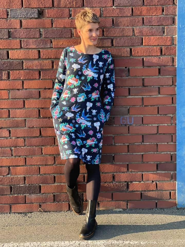 Winterärmel für LaBreton Dress von pedilu | Beispiel von katharina_die2te