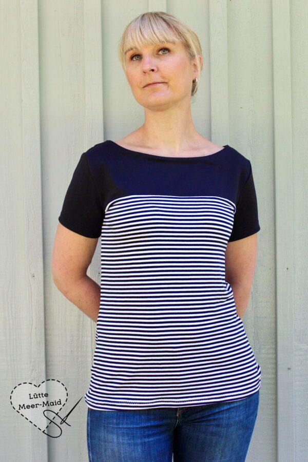 Sommerärmel für LaBreton Shirt von pedilu | Beispiel von Lütte Meer-Maid