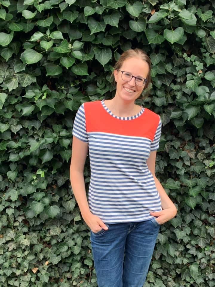 Sommerärmel für LaBreton Shirt von pedilu | Beispiel von kreamino