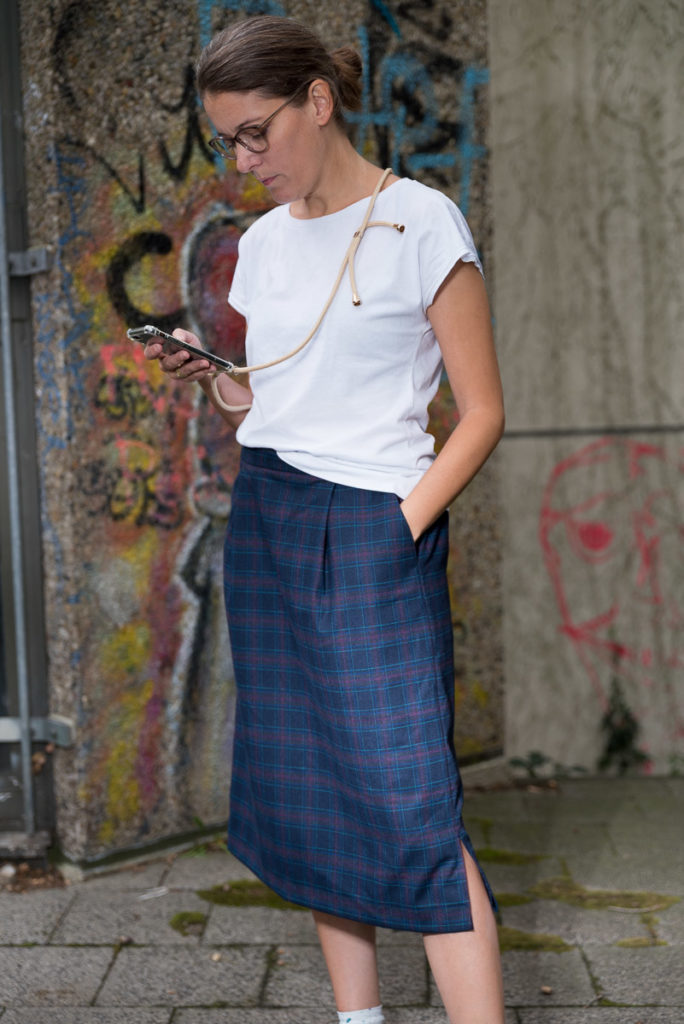 »LaWoodie Skirt«   E-Book – Rock, Vorderansicht   pedilu
