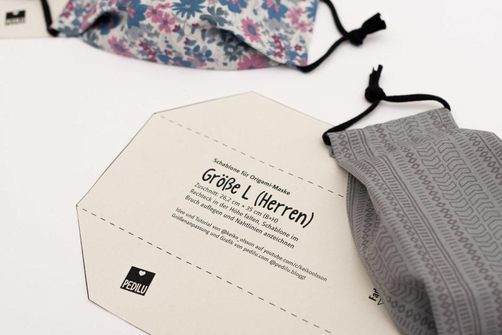 Origami-Maske | Tipps und Tricks | kostenlose Schablone