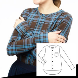 E-Book LaWoodie Blouse