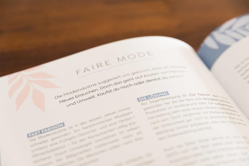 Faire Mode (Buch: Einfach nachhaltig nähen)