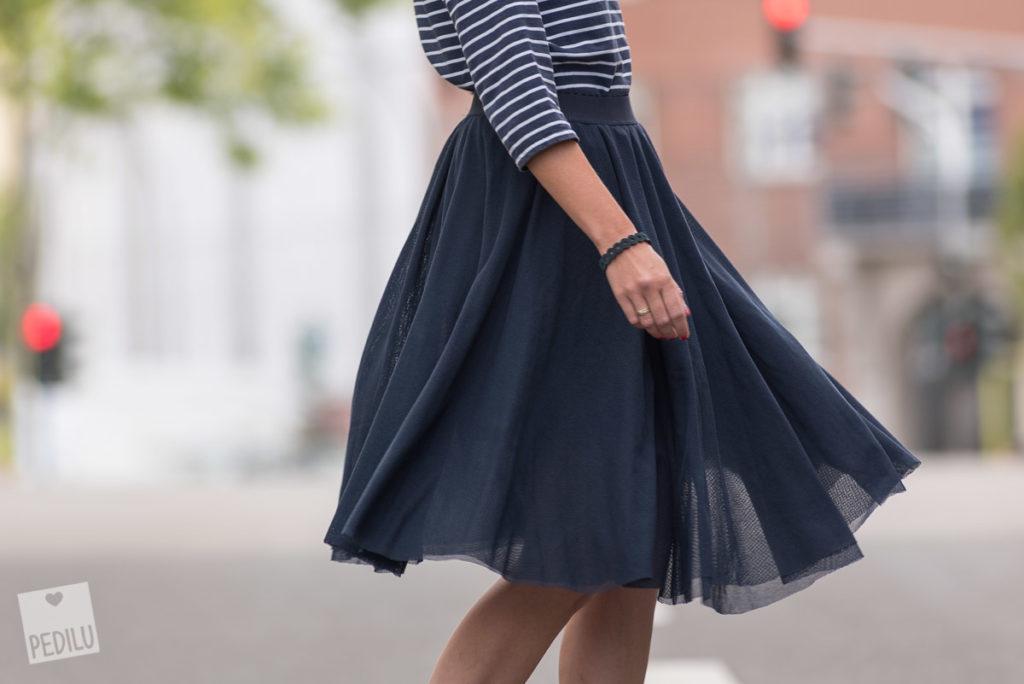 Tellerrock-Guide: Eleganter Tüllrock aus »Nähen macht süchtig«