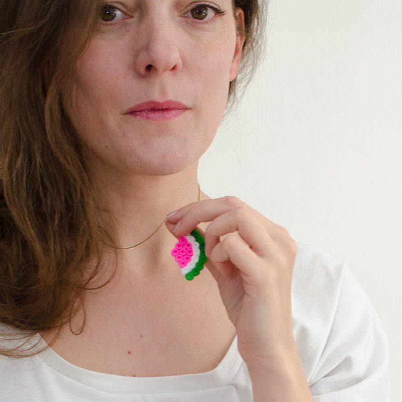 Tutorial: Wassermelonen-Anhänger